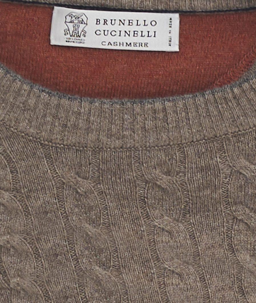 MAGLIONE TRECCIA BRUNELLO CUCINELLI